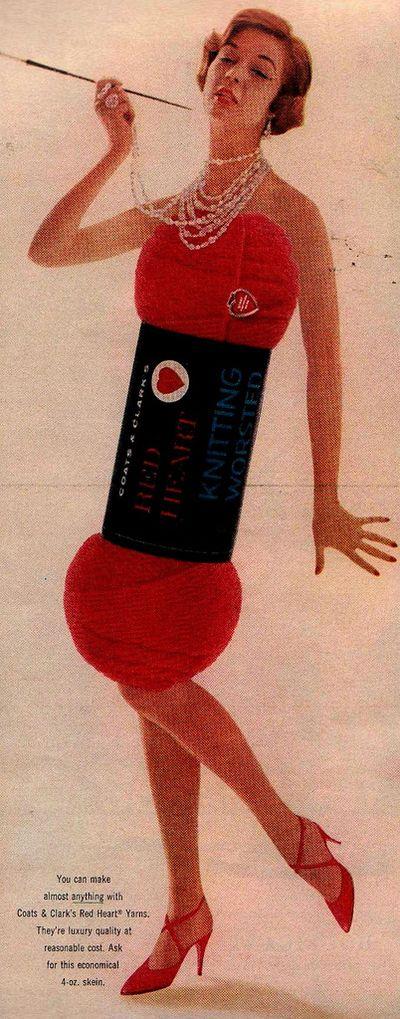 Weird 1958 ad