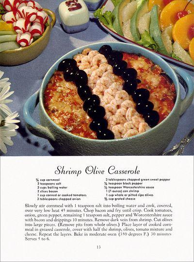 Weird vintage casserole