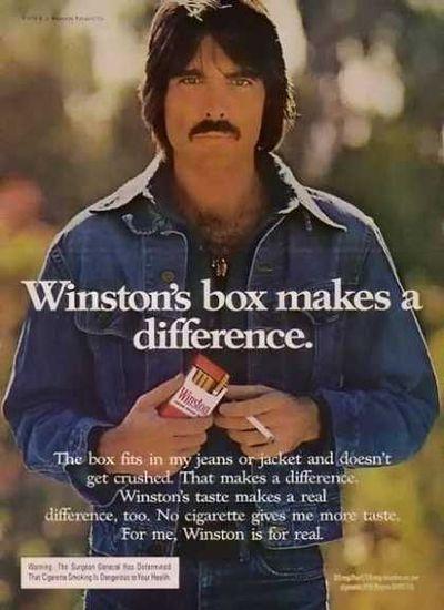 1970s cigarette ad